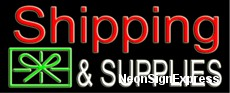 Neon Sign - SHIPPING & SUPPLIES