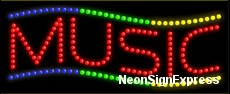 Music LED Sign