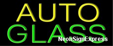Auto Glass Neon Sign