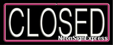 Neon Sign - CLOSED