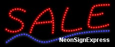 Sale LED Sign