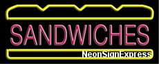 Neon Sign - SANDWICHES