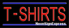 T-Shirts Neon Sign