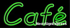 Neon Sign - CAFE