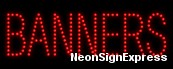 Banners LED Sign