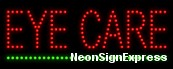 Eye Care LED Sign