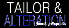 Neon Sign - TAILOR & ALTERATION