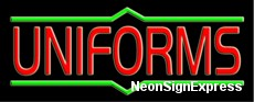 Uniforms Neon Sign