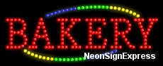 Bakery LED Sign