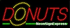 Donuts, Logo LED Sign