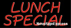 Neon Sign - LUNCH SPECIAL