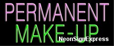 Neon Sign - PERMANENT MAKE-UP