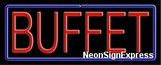 Neon Sign - BUFFET