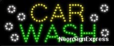 Car Wash LED Sign