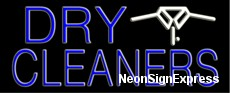 Neon Sign - DRY CLEANERS