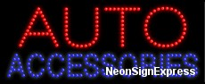 Auto Accessories LED Sign