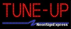 Tune-Up LED Sign