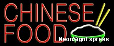Neon Sign - CHINESE FOOD