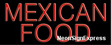 Neon Sign - MEXICAN FOOD