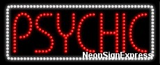 Psychic LED Sign