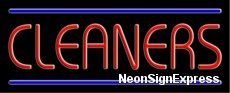 Cleaners Neon Sign