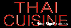 Neon Sign - THAI CUISINE