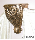 Leaf Carving Sconce