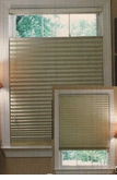 Top Down / Bottom Up Metalized Room Darkening Pleated Shade