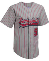 Youth Pennant Pro-Weight Pinstripe Polyester Jersey Teamwork 1712B