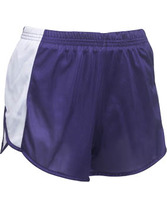 Adult Track Short With Side Panel Insert Teamwork 4551