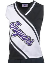 Adult Spirit Cheer Shell With 3 Stripe Trim Teamwork 1053