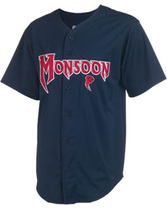 Youth Cutter Full Button Diamond Core Mesh Jersey Teamwork 1769B