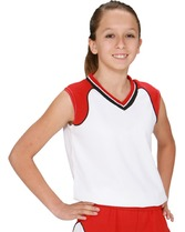 Youth Silhouette Cool Mesh Poly Jersey Teamwork 1261
