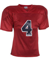 Adult Flag Star Football Jersey Teamwork 1321