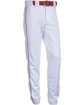 Adult Relaxed Fit 17 oz. Piped Polyester Pant Teamwork 3252