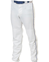 Adult Relaxed Fit 17 oz. Piped Polyester Pant Teamwork 3727