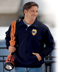 The Firefighter's Work Shirt w/ Front Pouch Pocket USA Game 850-p