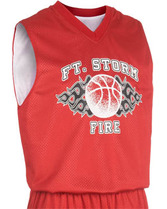 Adult Fadeaway Reversible Basketball Jersey Teamwork 1431