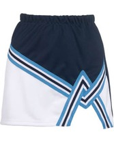 Youth 2 Color A-Line Cheer Skirt Teamwork 4081