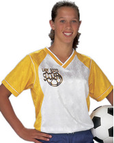 Youth Lazer Jacquard w/2-color crossover collar Teamwork 1618