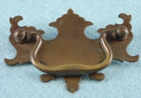 Brass drawer pull (13 available), circa 1920s