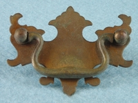 Brass drawer pull (5 available), circa 1920s