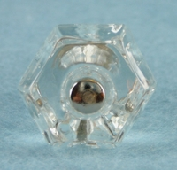 Medium glass knob (11 available) (1034)