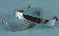 Chrome plated drawer handle (13 available), circa 1940s