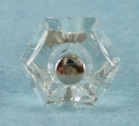 Small glass knob (20 available) (1043)