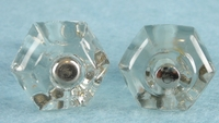 Small glass knob (10 available) (1044)