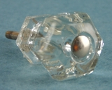 Medium glass knob (50 available) (1035)