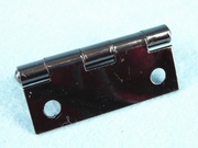 Black painted steel hinge (14 available) (1309)