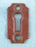 Single cast iron keyhole cover (1079)