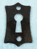 Single painted iron keyhole cover (1091)